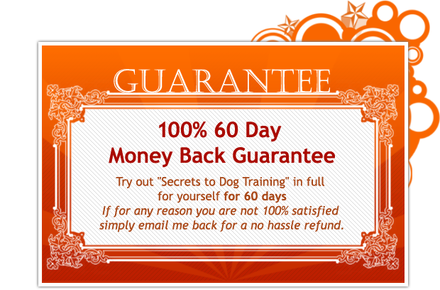 100% 60 Day Money Back Guarantee